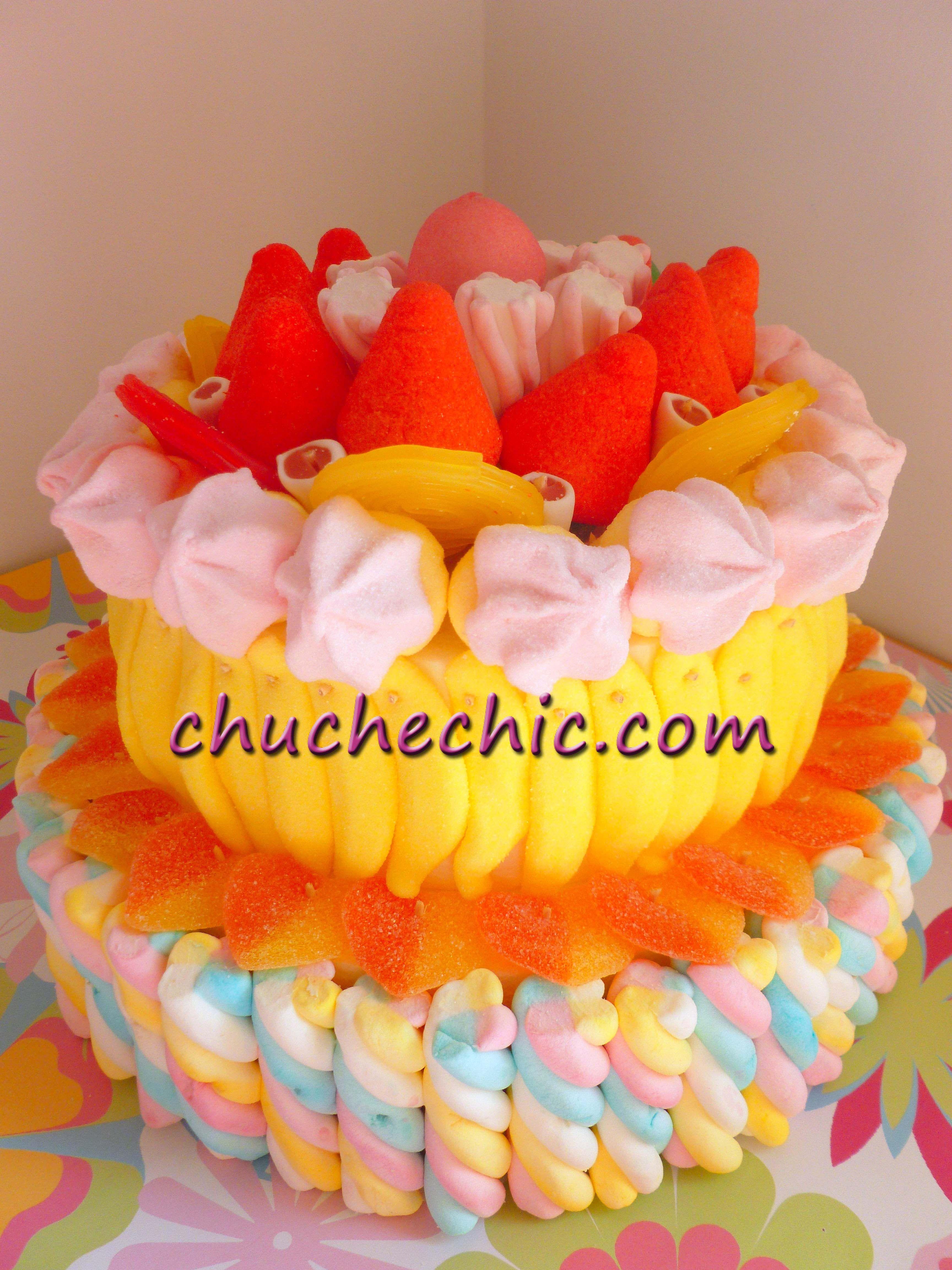 Tartas De Gominolas Chuchechic 2 Pisos Chuches Variados