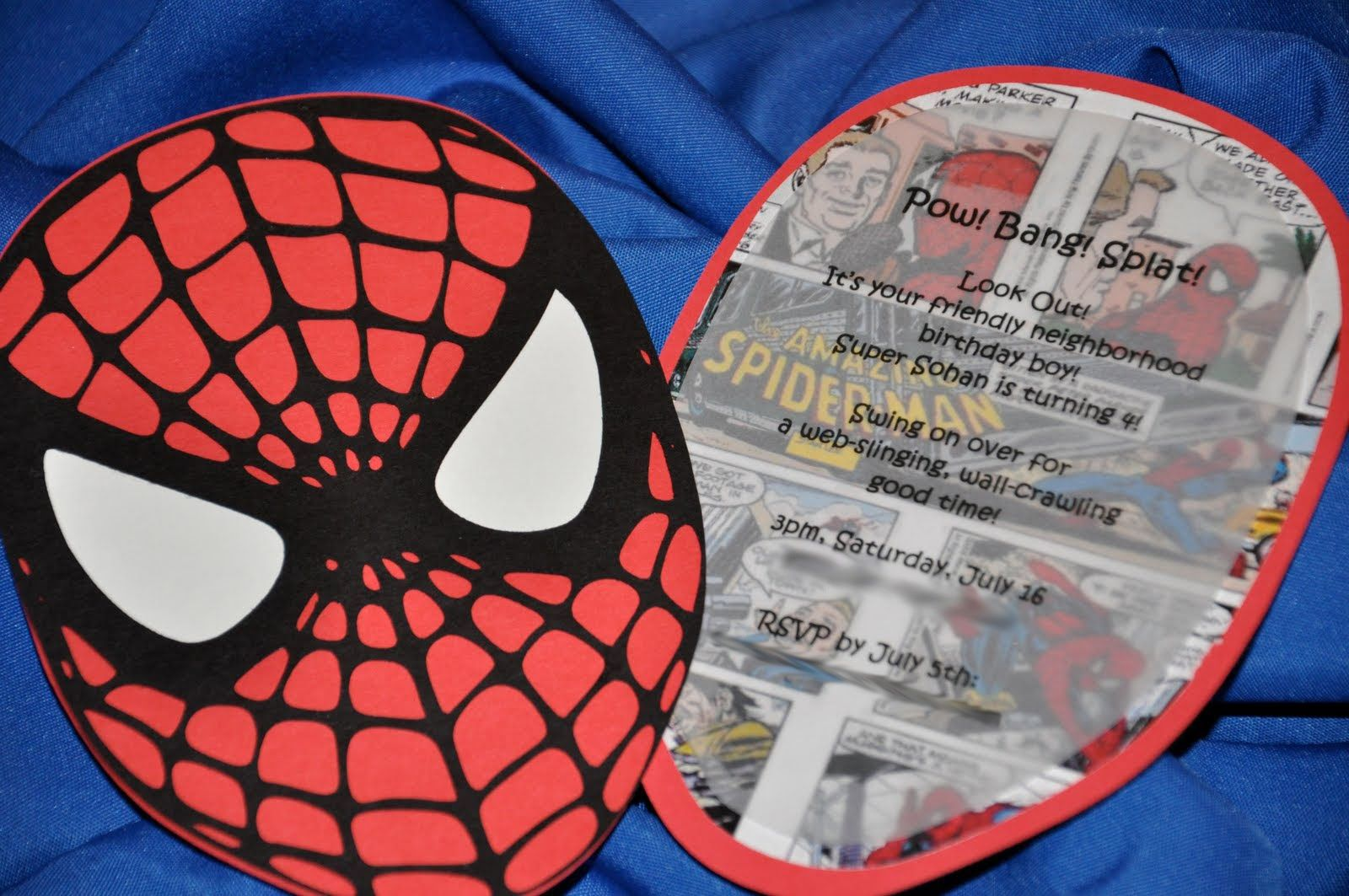 Spiderman personalized birthday party invite by nikkisinvitations spiderman personalized birthday party invite by nikkisinvitations party things pinterest party things spiderman birthday invitations and birthdays solutioingenieria Images