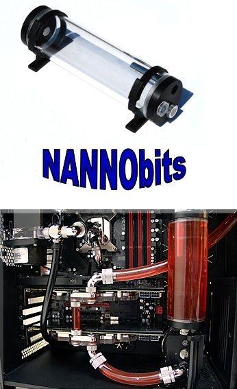 Coolbits Bitspower Water Tank Z Multi 250 Inline Reservoir The