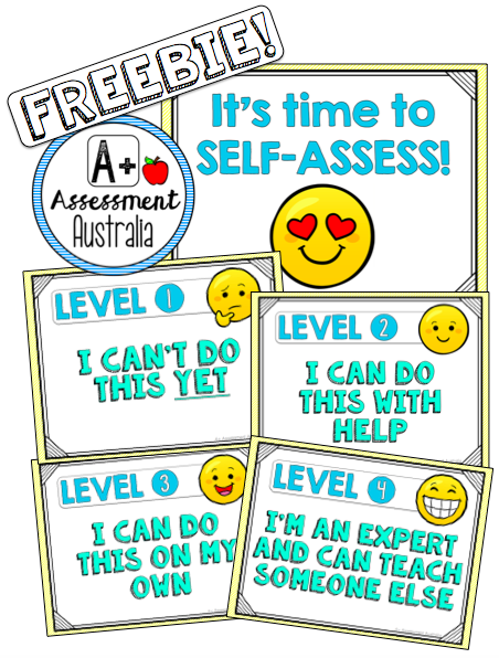 Free Emoji Self Assessment Point Scale By A Assessment