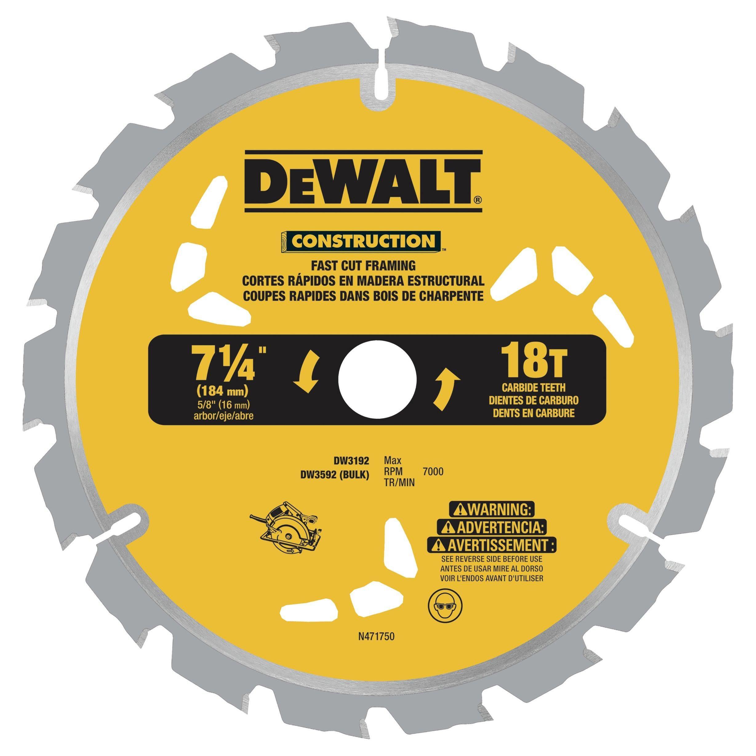 Dewalt 7 1 4 Inch 18t Thin Kerf Saw Blade Floor Decor In 2020 Circular Saw Blades Circular Saw Dewalt Circular Saw