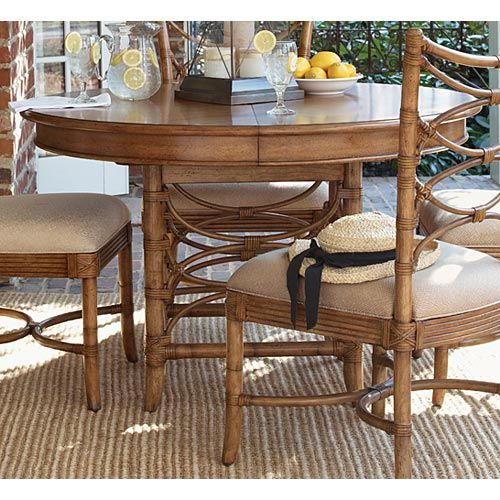 Tommy Bahama Beach House Coconut Grove Dining Table Beach House Furniture Dining Room Sets Round Dining Table