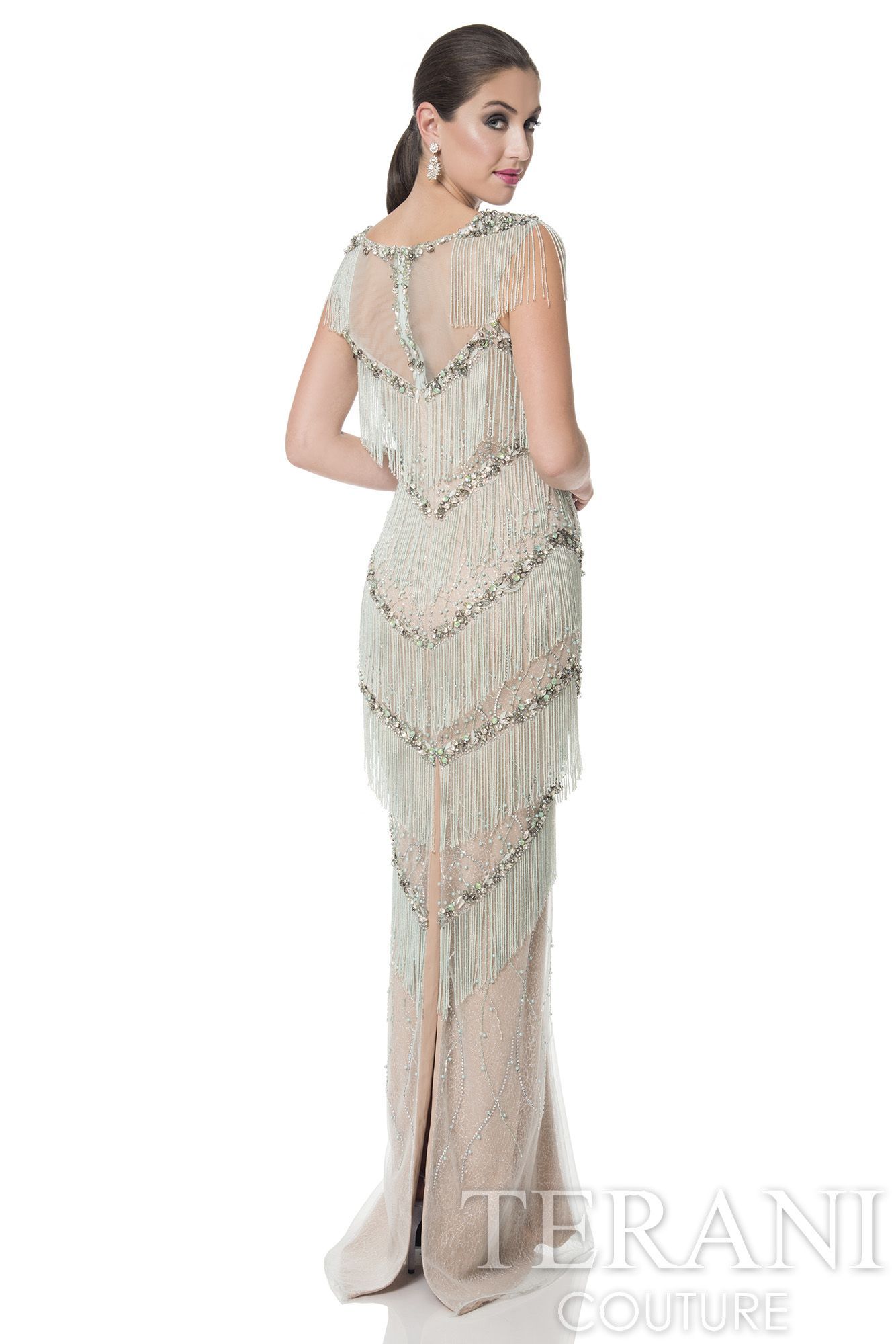 Terani couture gold label line style gl pageantdress