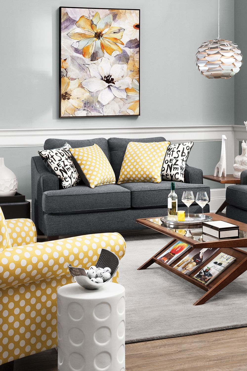 The Union Square Sofa And Loveseat Offer An On Trend Look That