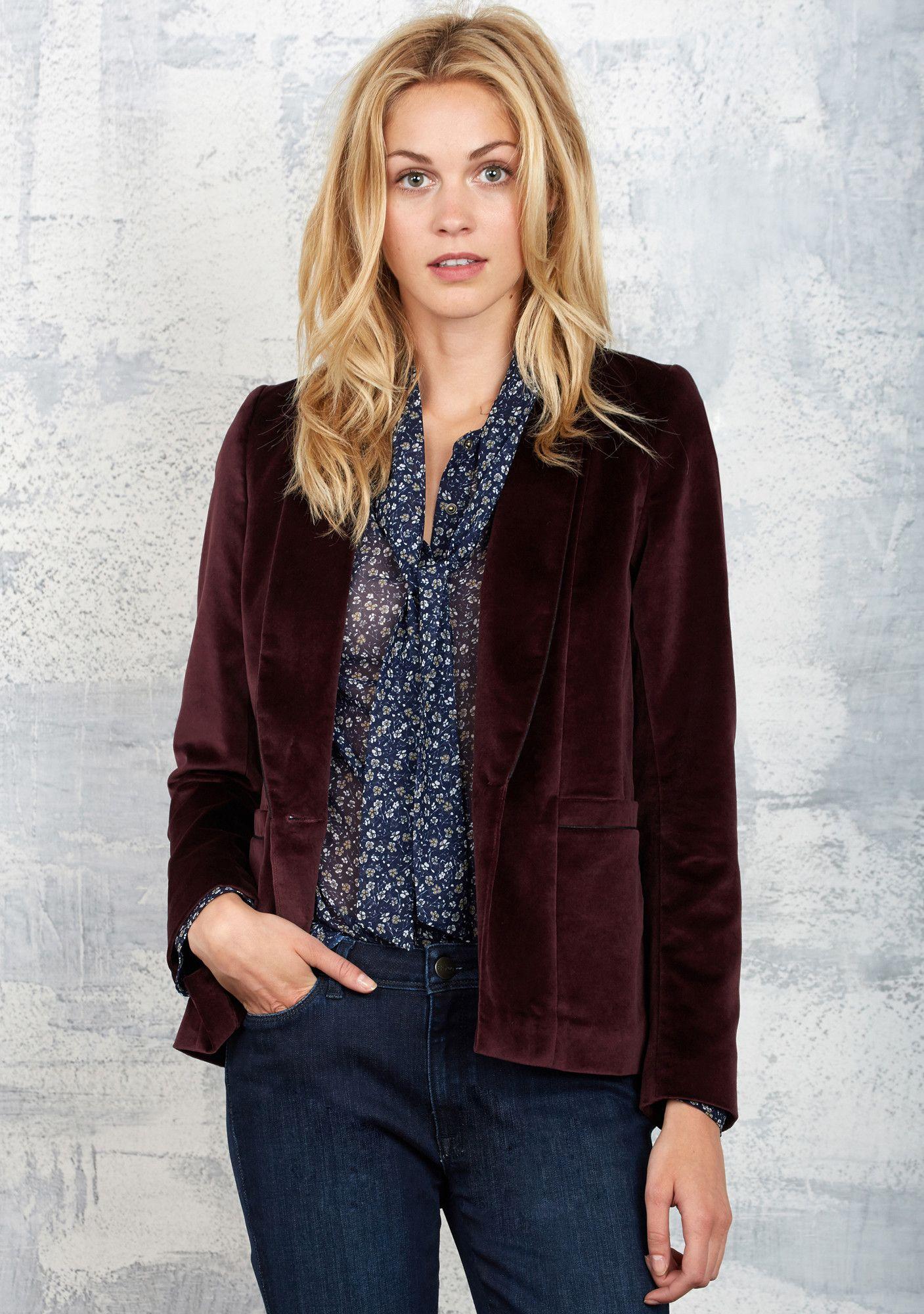 veste de tailleur femme bordeaux hiver