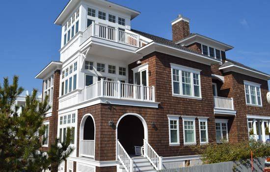 Delaware Maryland Custom Home Builder Jt Dashiell Builders Portfolio Ocean Village Beach House Plans Shingle Style Homes Rustic House Plans