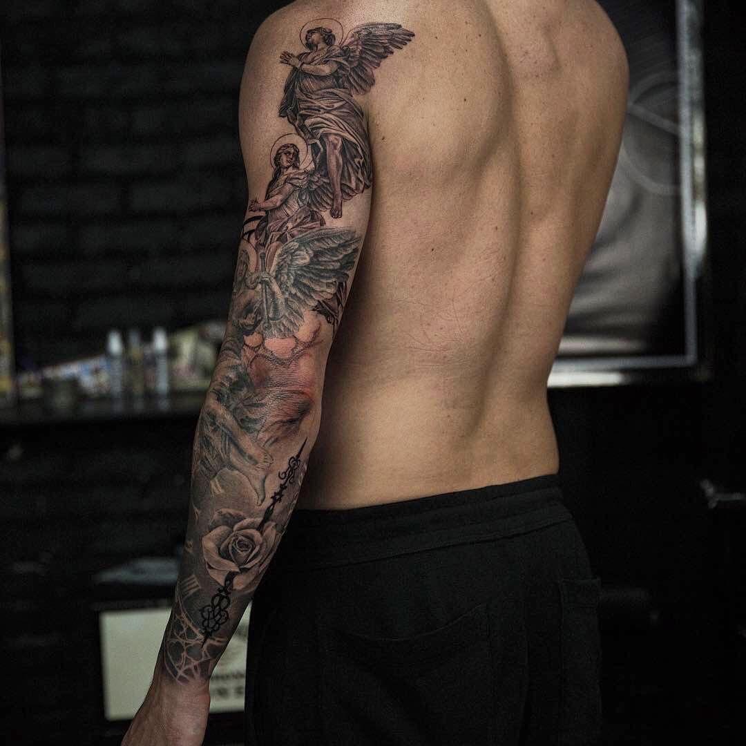 Amazing Artist Niki Norberg Niki23gtr Awesome Angels Rose Tattoo