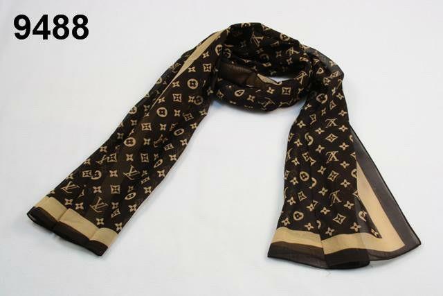 LV silk scarf