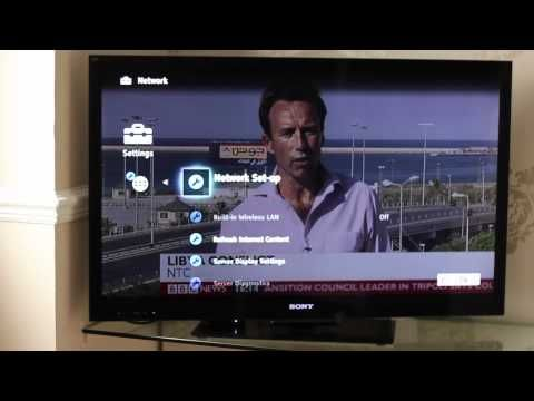 Sony Bravia Screen Mirroring Step by Step instruction