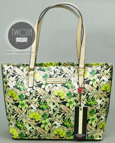 Torebka Monnari 4572 Kolorowa Kwiaty Zielony 15 6123697251 Oficjalne Archiwum Allegro Top Handle Bag Kate Spade Top Handle Bags