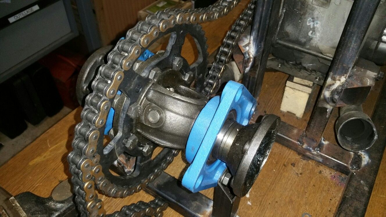 Differentiel Go Kart Prototype Custom Toys Dune Buggy Classic Motorcycles