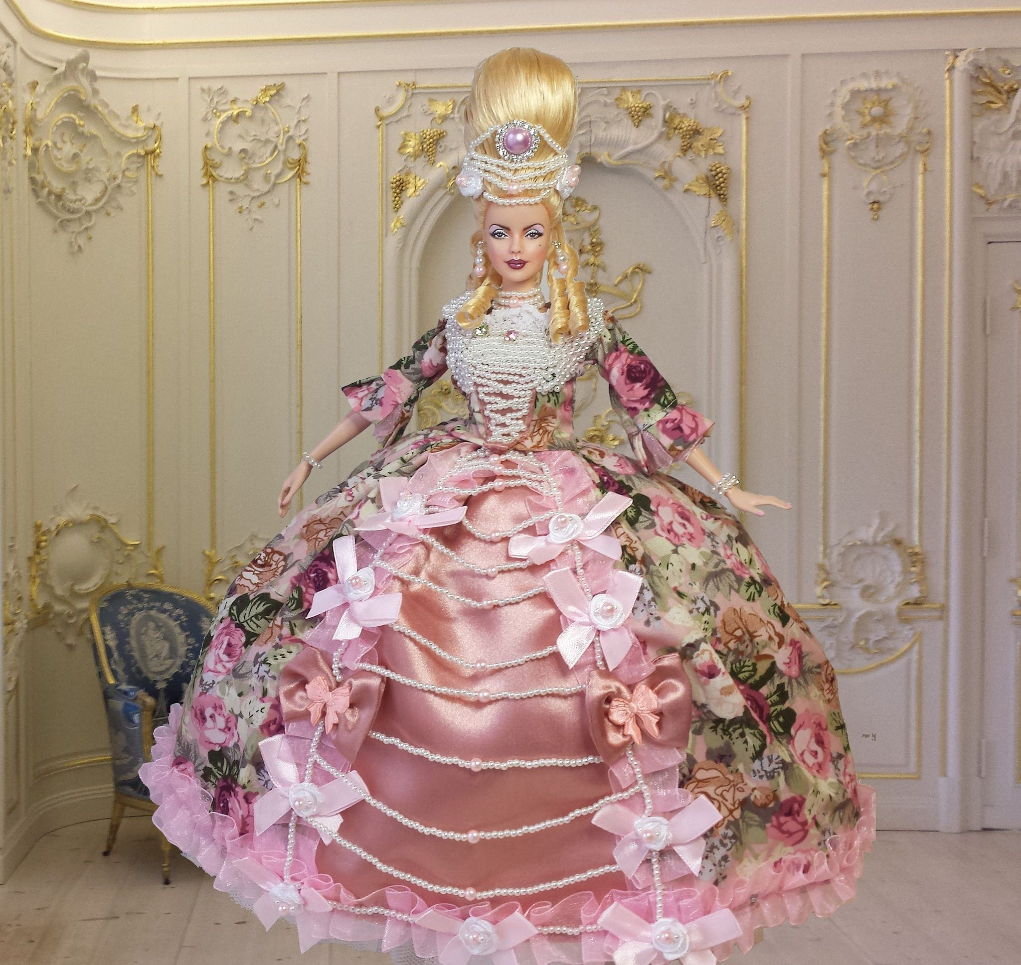 barbie marie antoinette ooak muse collector repaint doll by imperialis - Barbie Marie