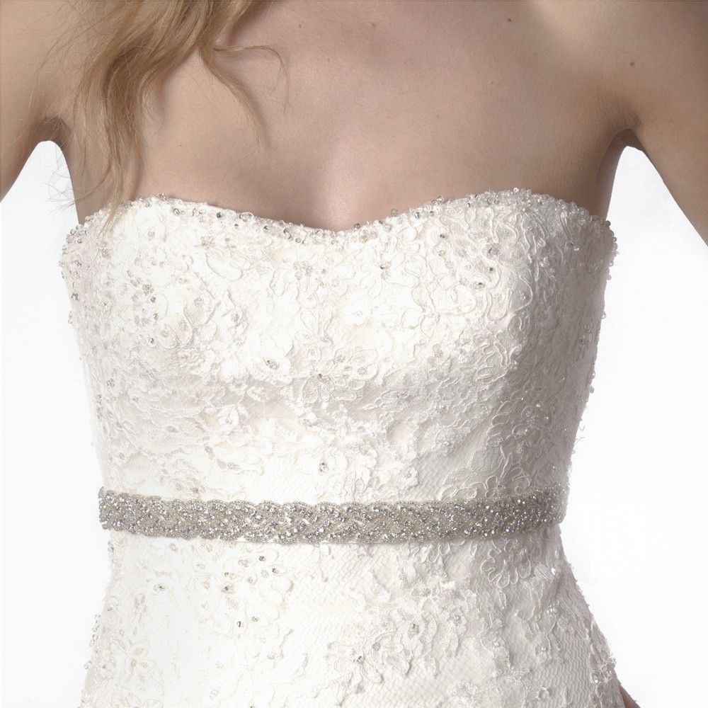 Bridal Gown Sashes And Belts Inspired Wedding Dress Belt