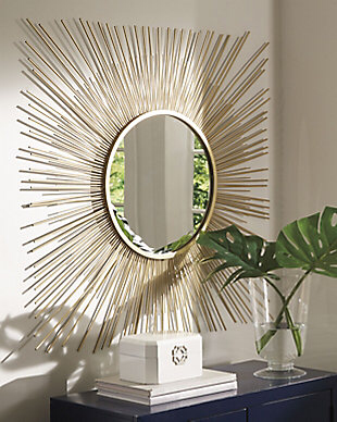 Wall Mirrors Reflect Your Style Ashley Furniture Homestore Mirror Design Wall Accent Mirror Decor Accent Mirrors