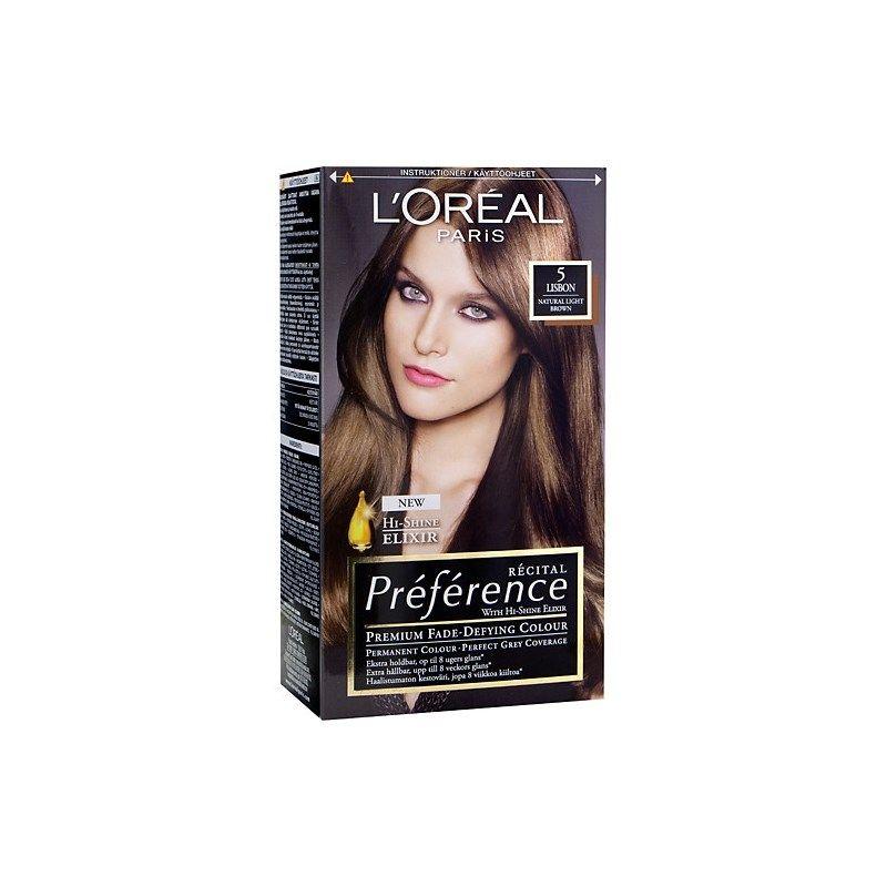 loreal paris hårfärg preference