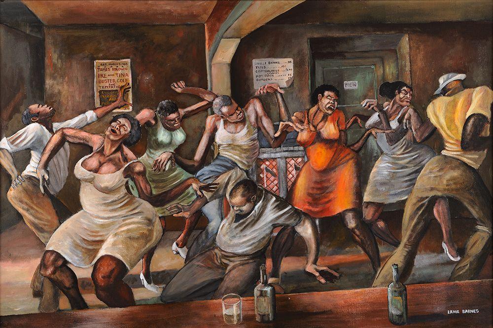 Ernie Barnes (19382009) in 2019 Ernie barnes, Black art
