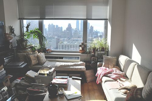 messy apartment room. Cozy messy living room  the view upgrades it all Untitled Living rooms and Room