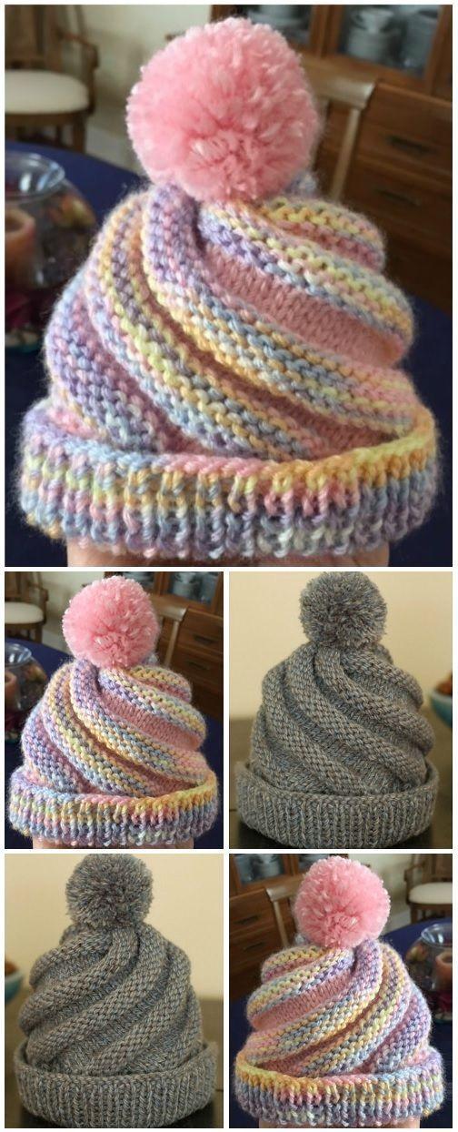 Photo of CROCHET SWIRLED HAT FREE PATTERN – Crochet hats – Hybrid Electronics- CROCHET …