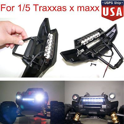Front bumper 7 led light bar lamp mount for 15 traxxas x maxx xmaxx front bumper 7 led light bar lamp mount for 15 traxxas x maxx xmaxx rc car us aloadofball Image collections