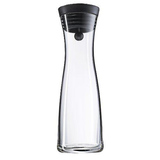 WMF 0617706040 Wasserkaraffe schwarz Basic 1,0l