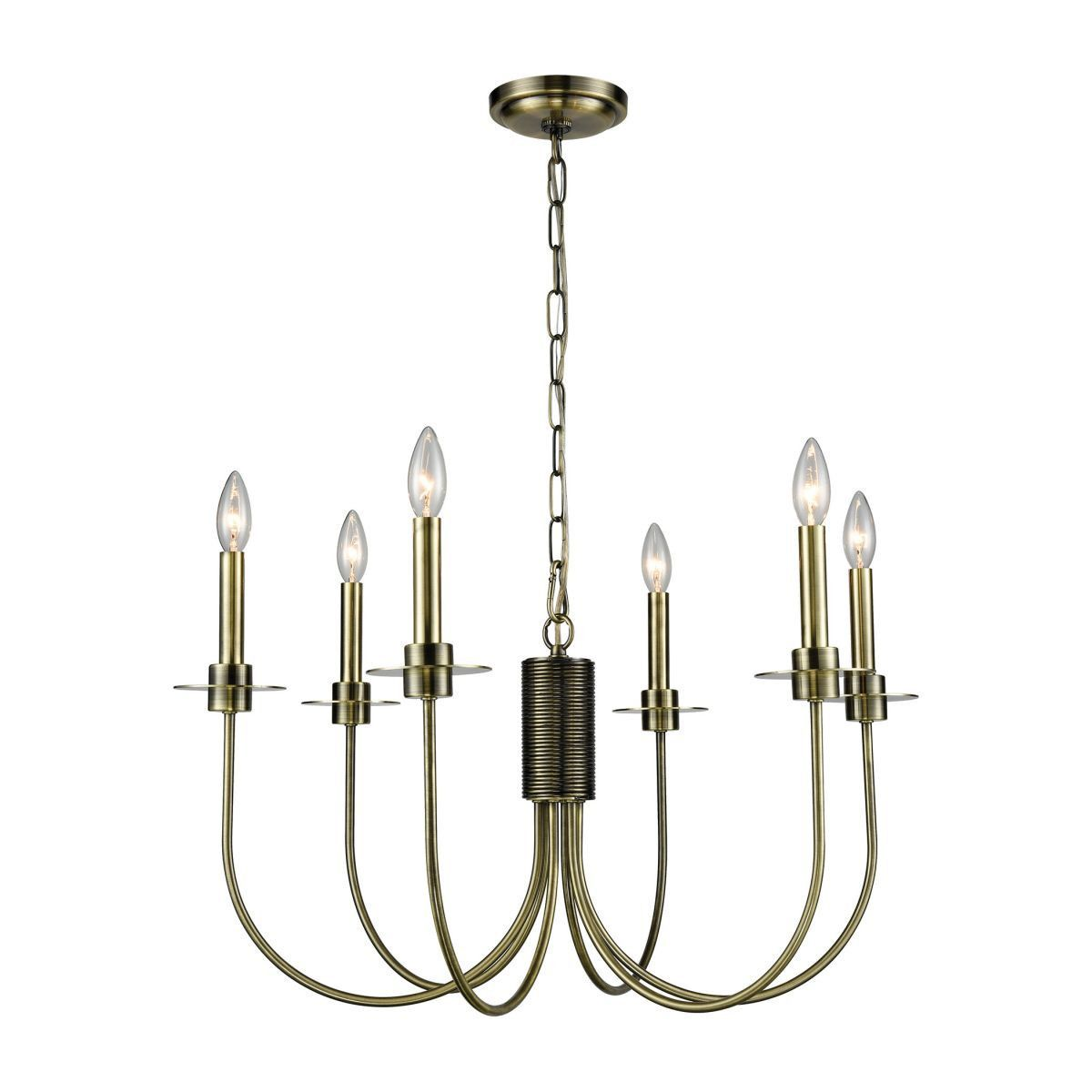Ursela chandelier design by lazy susan products