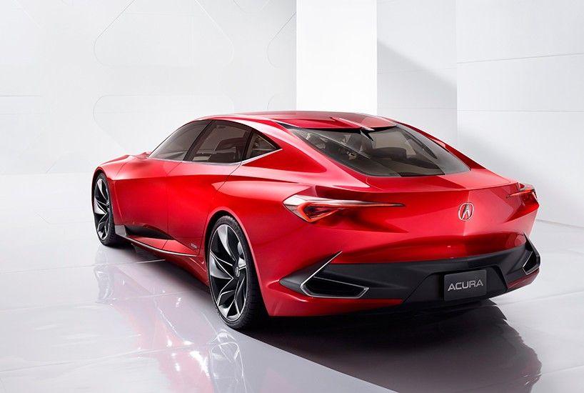 Acura Highlights Razor Edged Forms With Precision Concept At Naias 2016 Acura Precision Acura Concept Cars