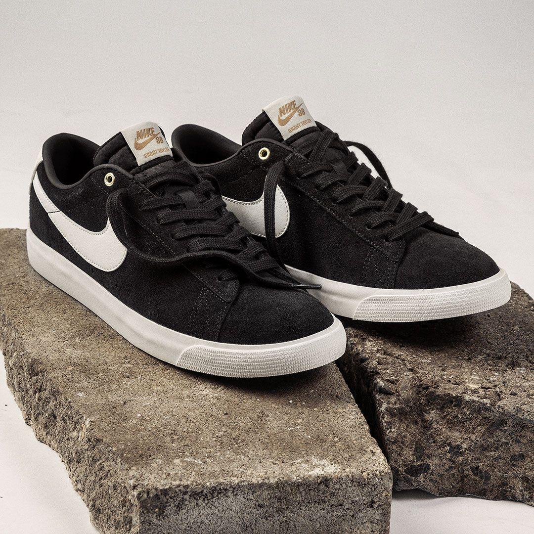 Nike SB Blazer Low GT Shoes (black sail) | Nike sb blazer, Nike sb ...