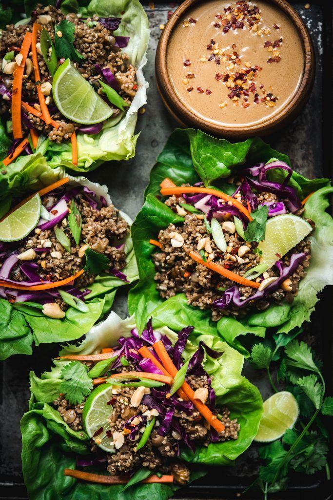 Vegan Asian Lettuce Wraps images
