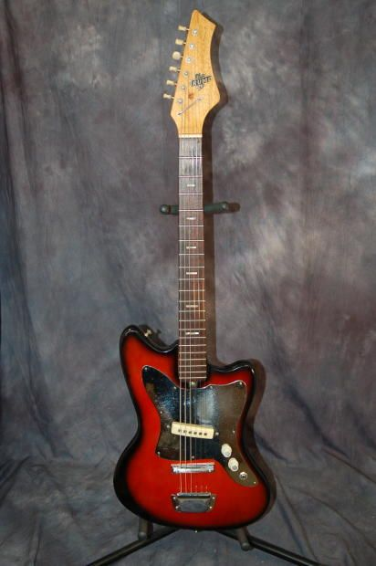 Today Lawman Guitars Is PresentingA Really Cool Solid Body Trump Brand Guitar Made By Teisco Its A Jaguar Style And Plays Great