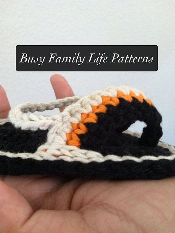 PATTERN Crochet Baby Sandals