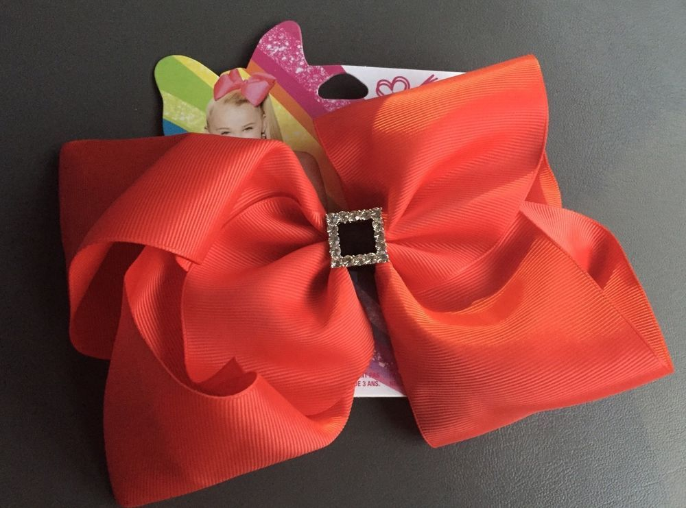 jojo siwa holiday claires exclusive big red bow christmas rhinestone kids new ebay