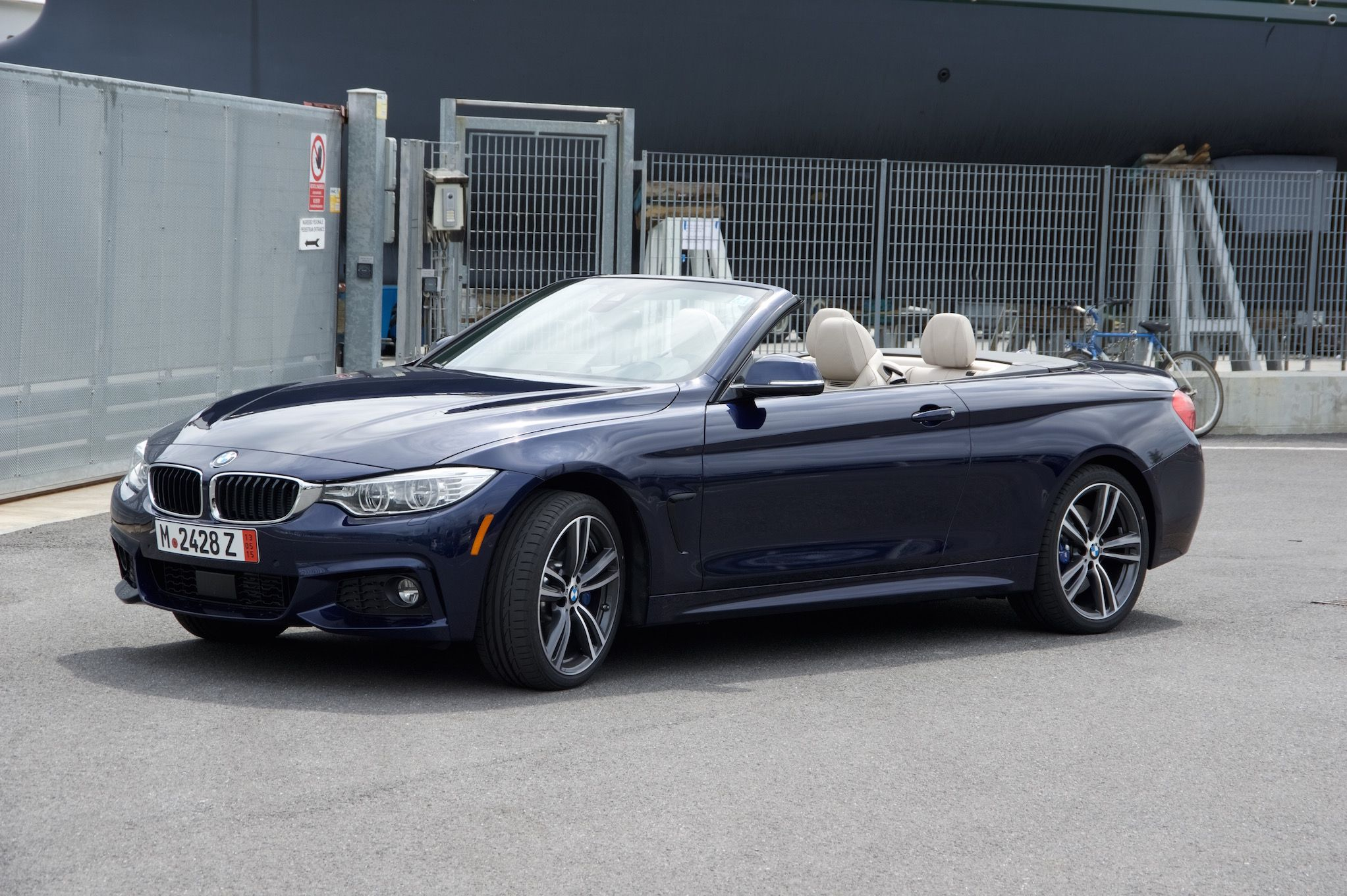 2015 Bmw 435i Xdrive Convertible In Tanzanite Blue European Delivery Bmw 435i Blue