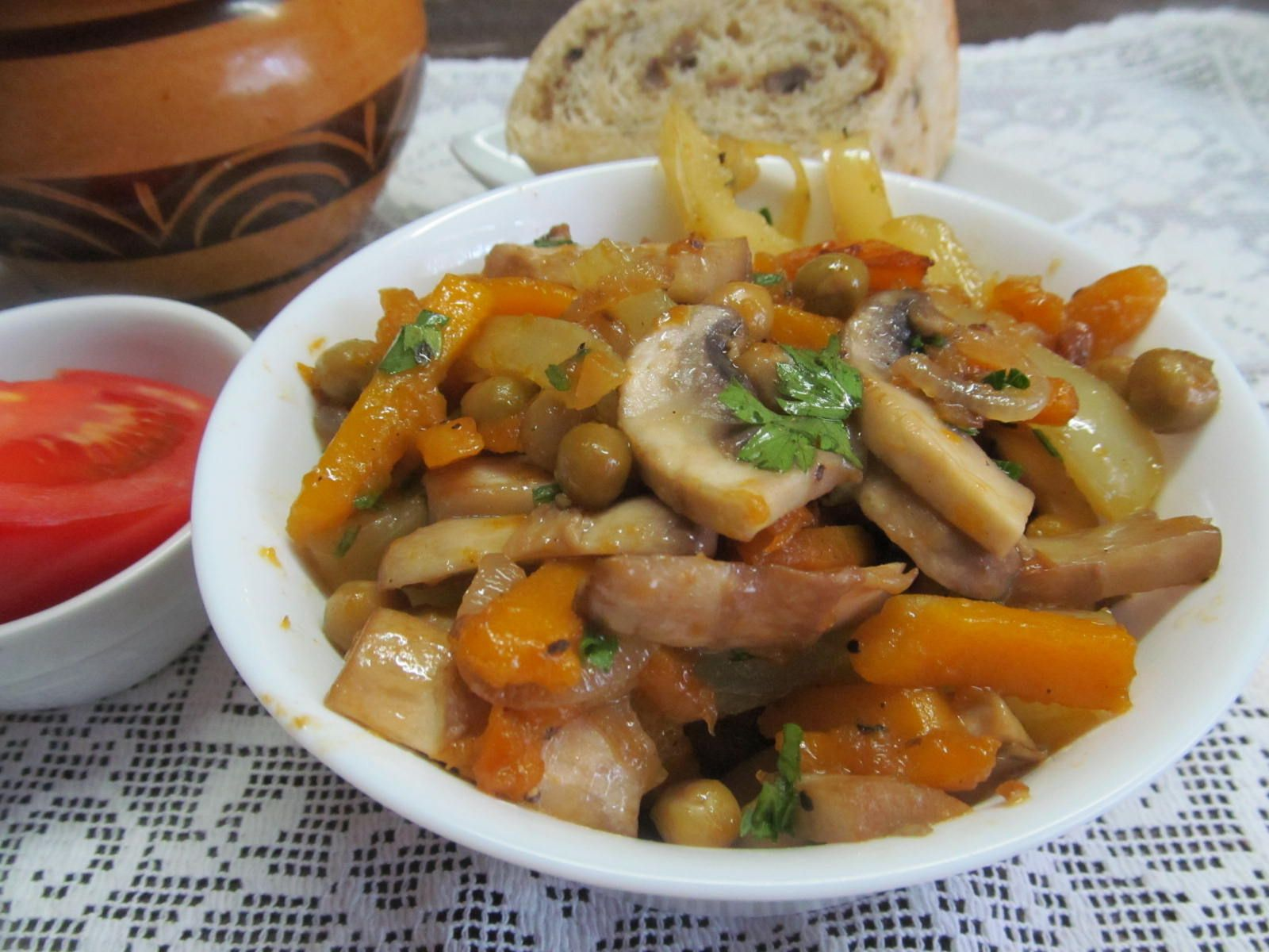 тыква с грибами рецепты приготовления