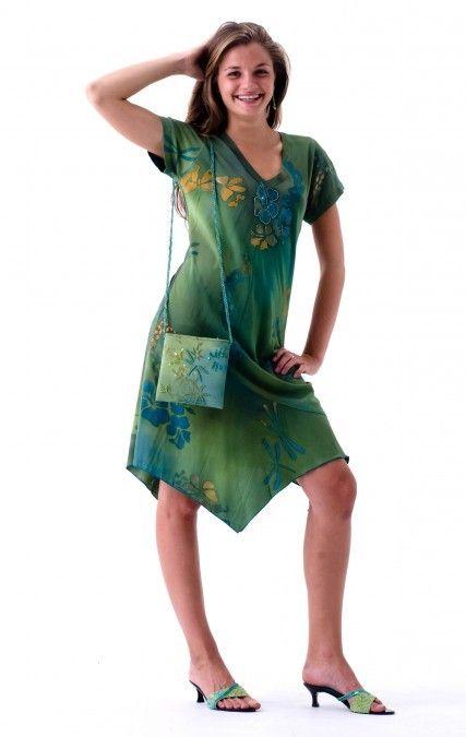 ad61a237e051 Hawaiian Holiday Short Sleeve Dress at Tropical Tantrum | Casual ...