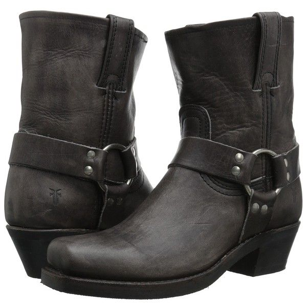 Frye Harness 8R Women's Pull-on Boots ($298) ❤ liked on Polyvore