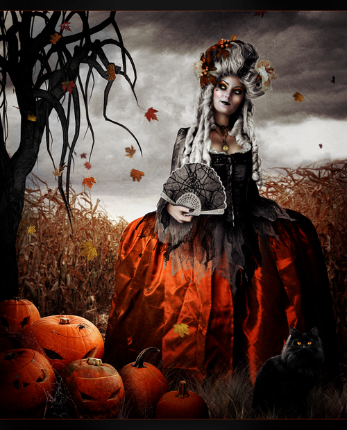 Lady of all hallows eve