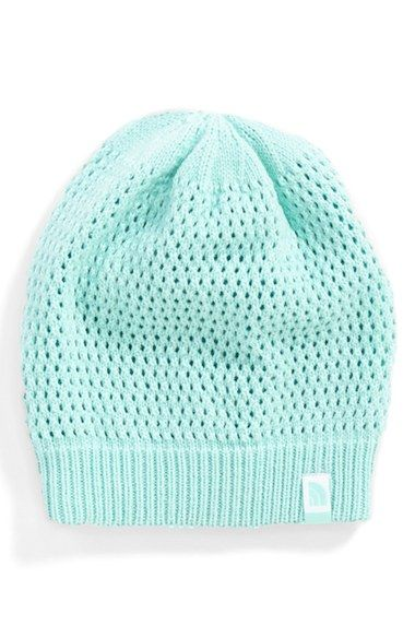b822b452eb10a The North Face  Shinsky  Reversible Beanie (Girls) available at  Nordstrom