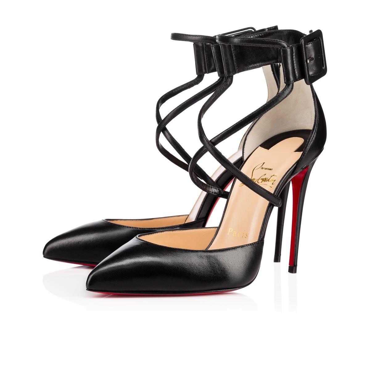 Women Shoes - Suzanna Nappa Shiny - Christian Louboutin