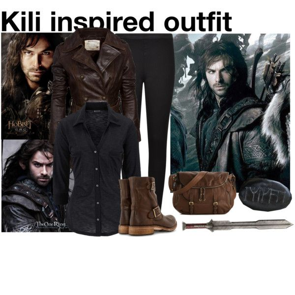 The Hobbit: Kili inspired outfit by xylona on Polyvore featuring French Connection, Gidigio, TheHobbit and kili