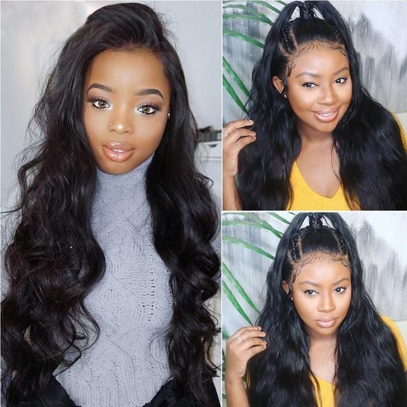 Body Wave Lace Frontal Human Hair Wig #humanhairextensions