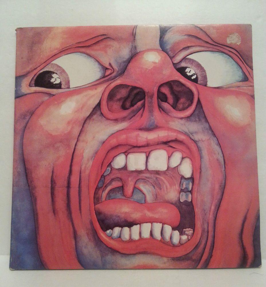 King Crimson In The Court Of The Crimson King Collectors Edition Lp Album Art Album Cover Art Rock Album Covers