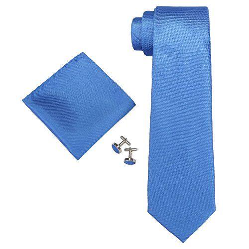 Landisun 18A03 Cobalt Blue Solid Mens Silk Tie Set: Tie+Hanky+Cufflinks Landisun http://www.amazon.com/dp/B00T48DDH6/ref=cm_sw_r_pi_dp_bSGRvb1Q35YFC