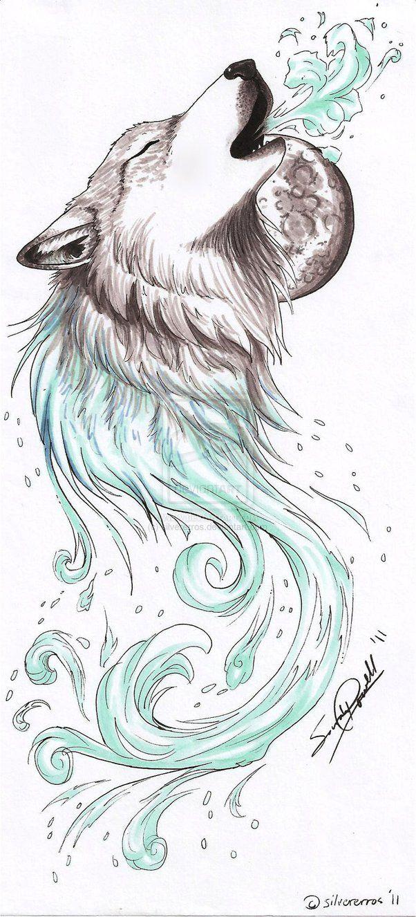 Desenho Tatuagem Lobo Desenho De Tatuagem De Lobo Desenho De