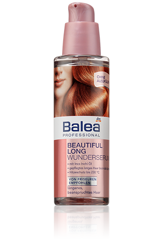 Balea Beautiful Long Wunderserum Anti Frizz Hitzeschutz