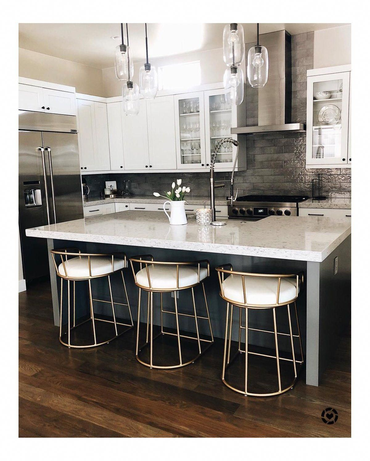 "Ave Six Luna 9"" Bar Stool & Reviews  Wayfair #Kitchen  Kitchen"