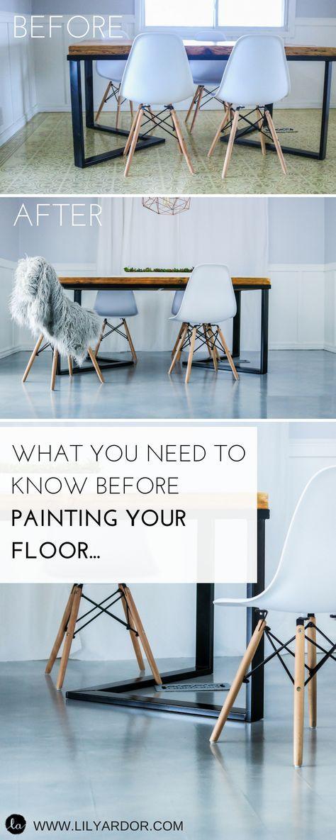 Painted FLOOR IDEA- Paint ANY FLOOR- BEST floor paint ...