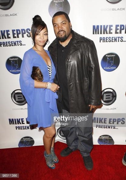 vast selection top design quality products Actor / Rapper Ice Cube & his wife arrives at comedian Mike ...
