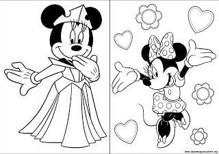 Desenho Para Colorir Minnie Desenhos Para Colorir Desenho Da