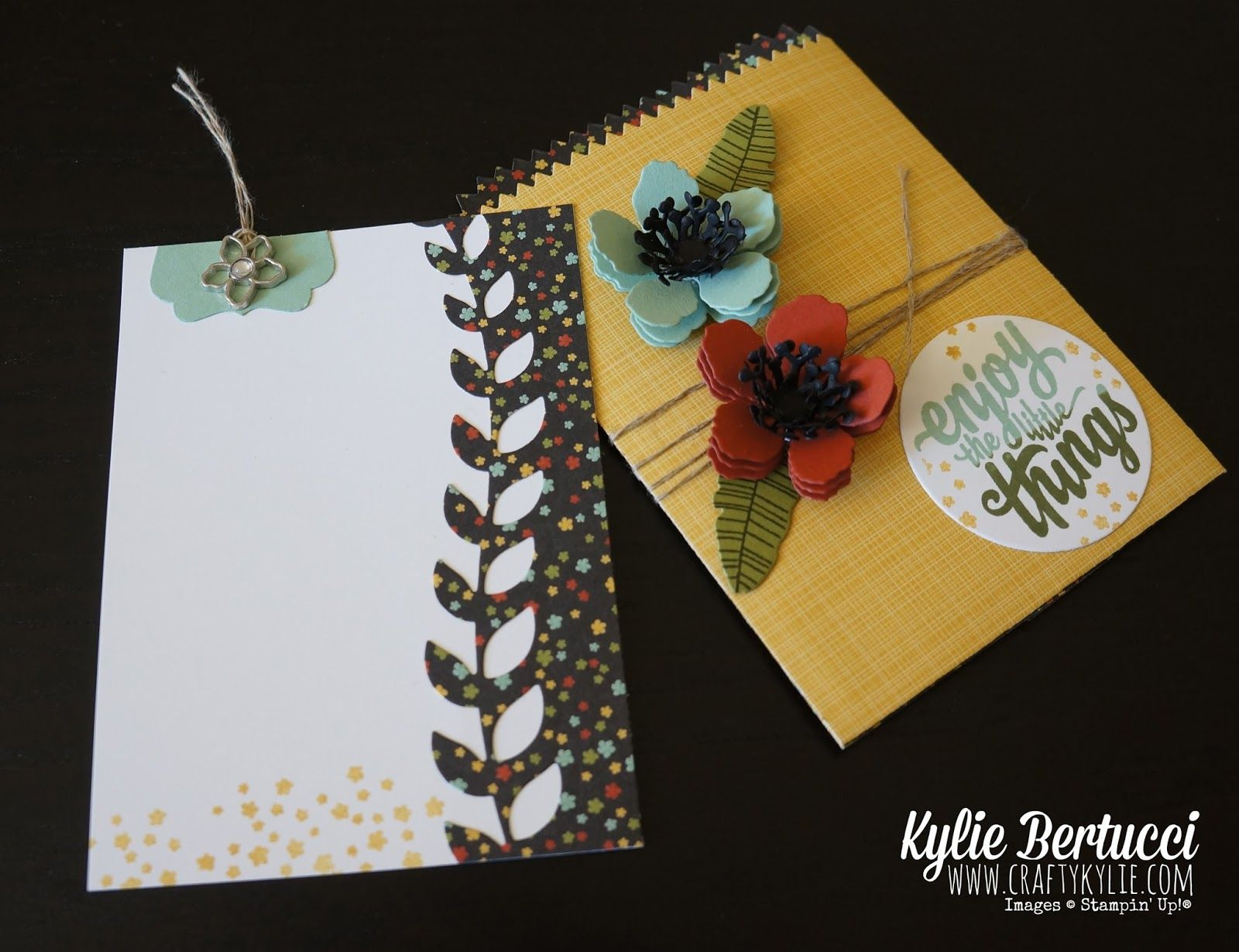 Kylie Bertucci - Mediterranean Blog Hop - Seeing 3D. Be inspired by the best Stampin' Up!® Demonstrators from around the world click on the picture to see more of Kylie's designs plus lots more! #stampinup #gvachieversbloghop #handmadecards #botanicalgardens #occasions2016