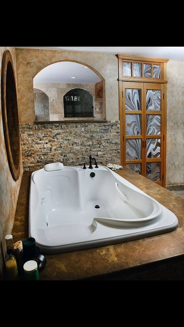 Oodles of Bubbles, Fun, and Romance: Bathtubs for Two | Pinterest ...